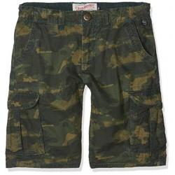 Petrol Camo Shorts